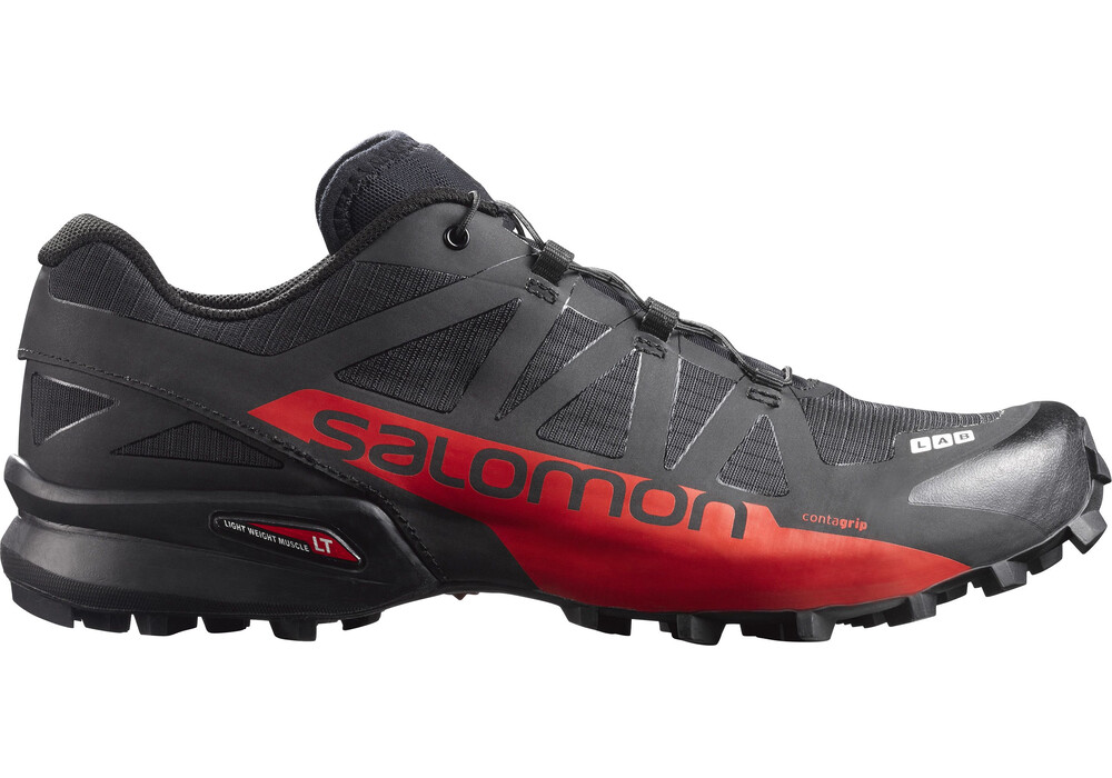 Salomon S Lab Speedcross Unisex Shoes Black Racing Red